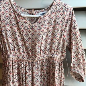 Old Navy long boho dress NWT 3T